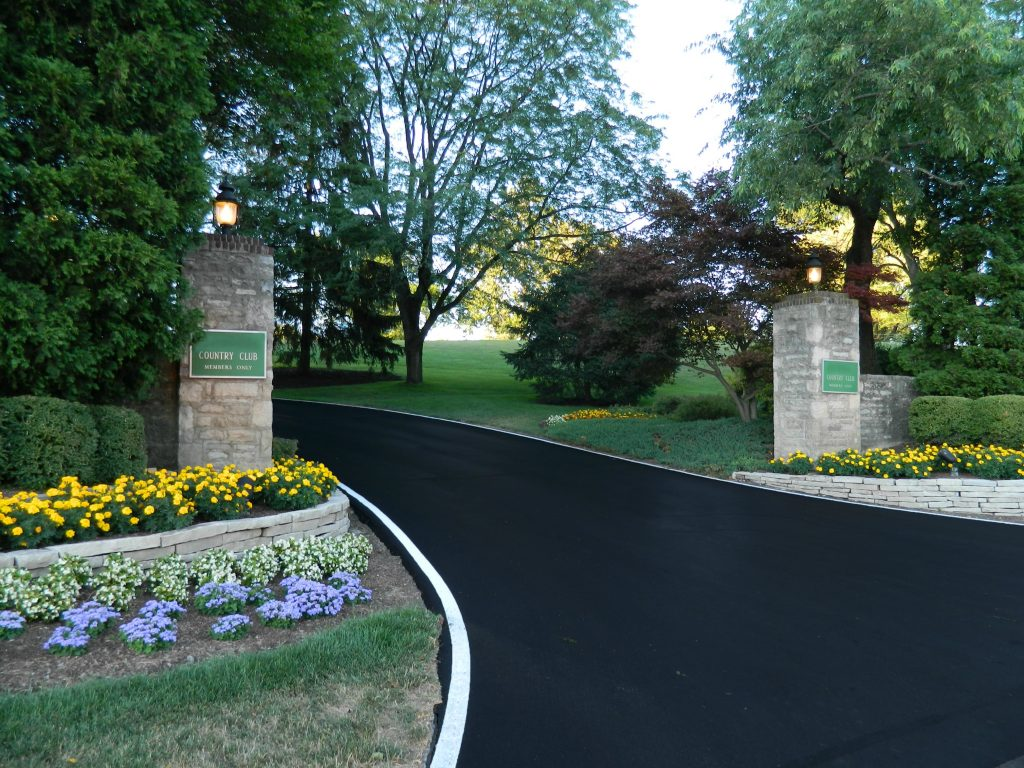 x SUPREME slider Finished Country Club Entrance Driveway